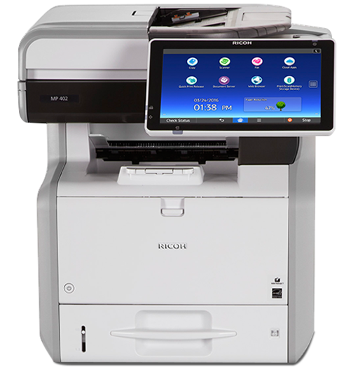 MP 402SPF Black and White Multifunction Printer | Ricoh USA