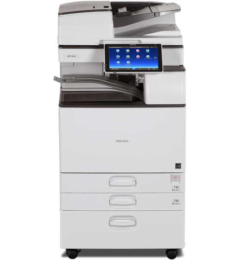 MP 5055 Black and White Laser Multifunction Printer | Ricoh USA