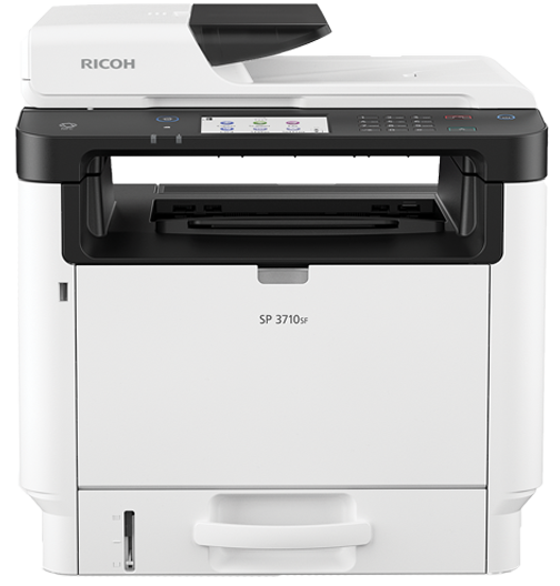 SP 3710SF Black and White Laser Multifunction Printer | Ricoh USA
