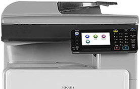 RICOH MP 301SPF Black and White Laser Multifunction Printer - 416185