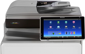 RICOH MP C407 Essential Color Laser Multifunction Printer