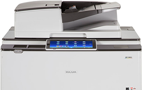 RICOH MP C8003 Color Laser Multifunction Printer