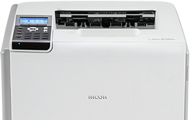 RICOH SP 5210DN Black and White Laser Printer - 406726