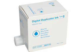 RICOH Type II Blue Digital Duplicator Ink - 893175