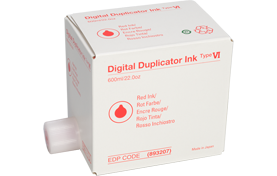 RICOH Red InkDigital Duplicator - Type VI - 893207