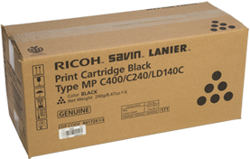RICOH Black Print CartridgeType MP C400/C240/LD140C - 841724