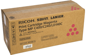 RICOH Magenta Print CartridgeType MP C400/C240/LD140C - 841726
