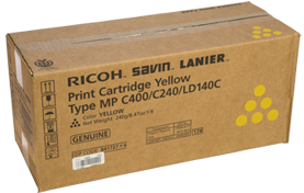 RICOH Yellow Print CartridgeType MP C400/C240/LD140C - 841727