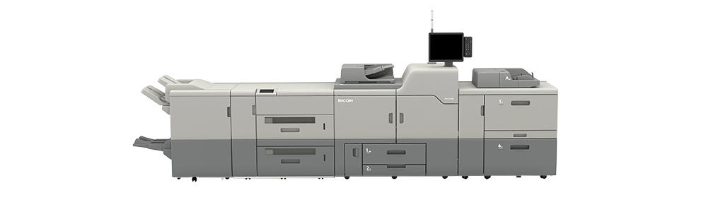 ricoh pro 7210s 4 station printer configuration