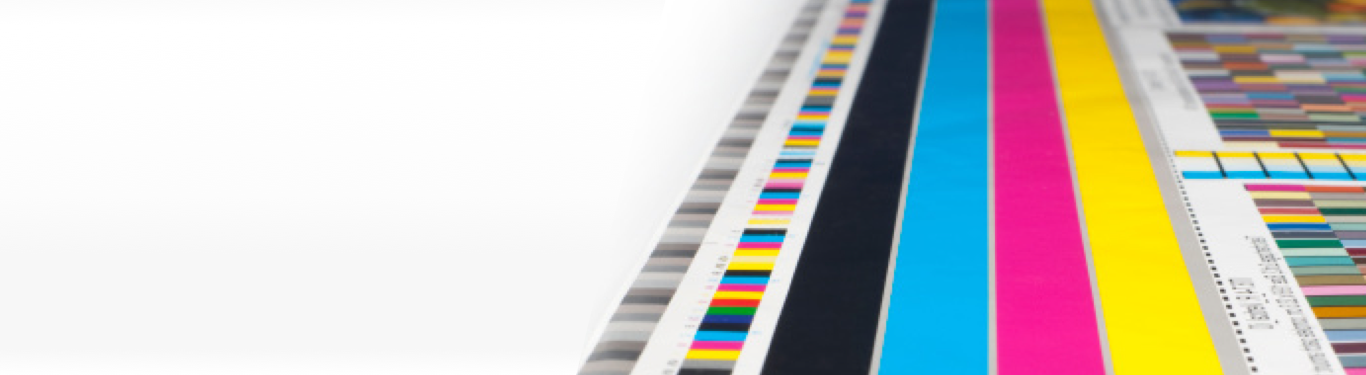 CMYK color registration marks