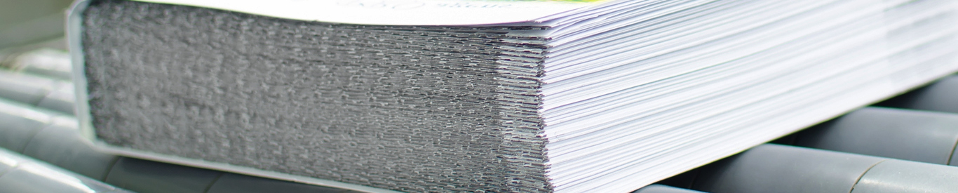 Stack of printed paper