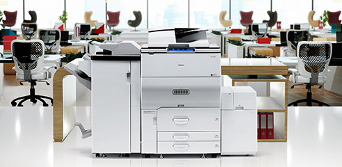 Charis printer in work environment