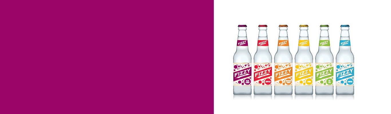 decals on sodas in different colors