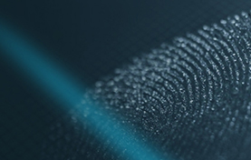 Scan of fingerprint