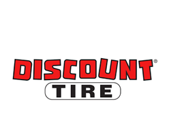 Discount Tire logo.