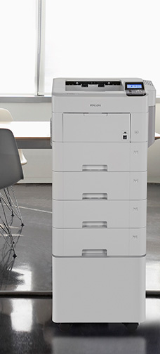 SP 5310DN printer in office setting