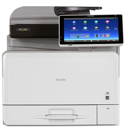 RICOH MP C406 Color Laser Multifunction Printer - 417322