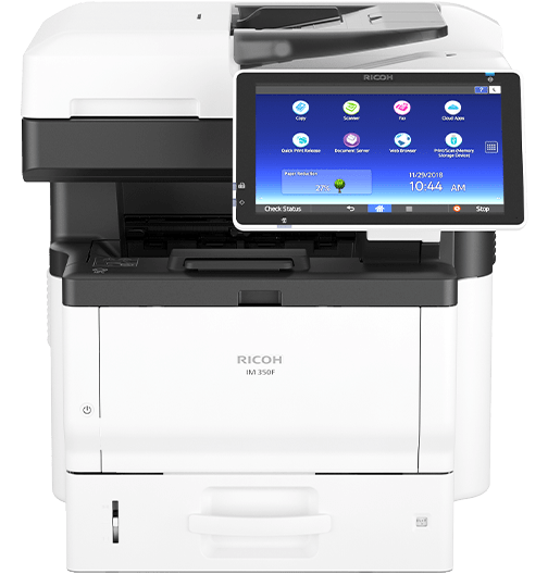RICOH IM 350F Black and White Multifunction Printer
