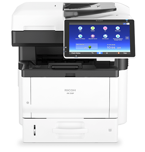 RICOH IM 350F Essential Black and White Multifunction Printer