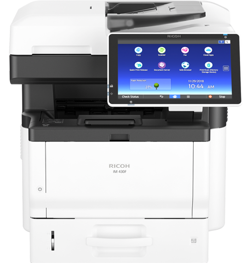 RICOH IM 430F Black and White Multifunction Printer