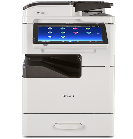 RICOH MP 305SPF Essential Black and White Laser Multifunction Printer