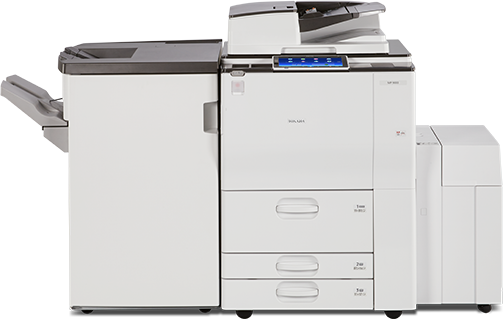 RICOH MP 9003 Performance Black and White Laser Multifunction Printer