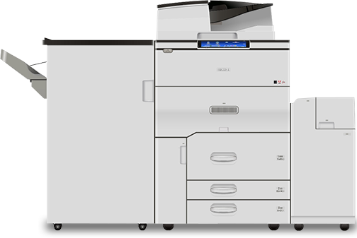 RICOH MP C8003 Performance Color Laser Multifunction Printer