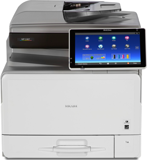 RICOH MP C407 Color Laser Multifunction Printer