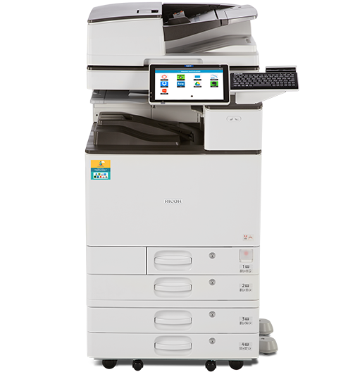 RICOH MP C4504SP TE for Education Color Laser Multifunction Printer