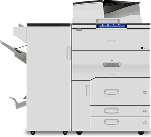 RICOH MP C8003 Plus Color Laser Multifunction Printer