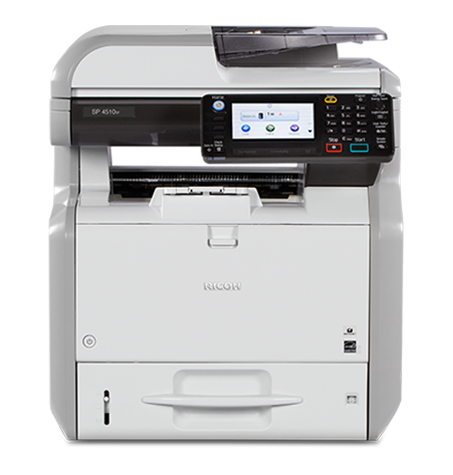 RICOH SP 4510SF Black and White Multifunction Printer