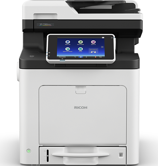 RICOH SP C360SFNw Color LED Multifunction Printer