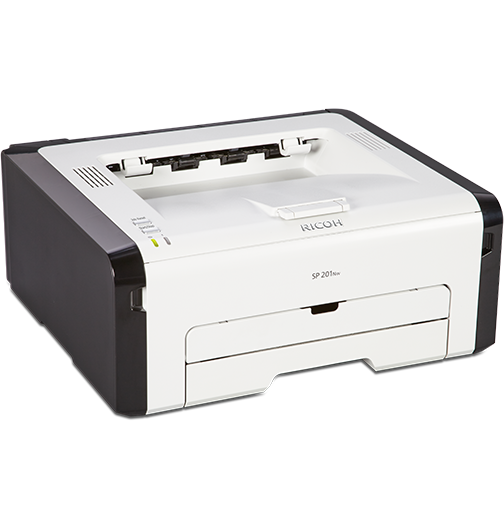 RICOH SP 201Nw Black and White Laser Printer