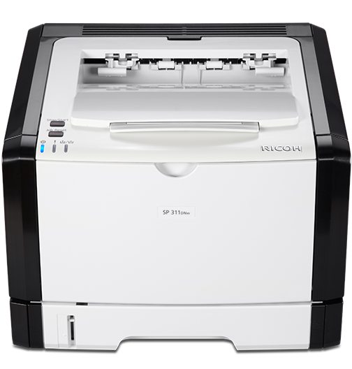 RICOH SP 311DNw Black and White Laser Printer