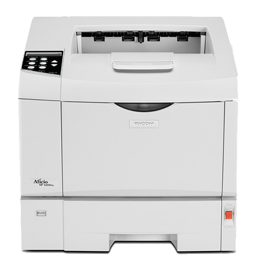RICOH SP 4100NL Black and White Laser Printer
