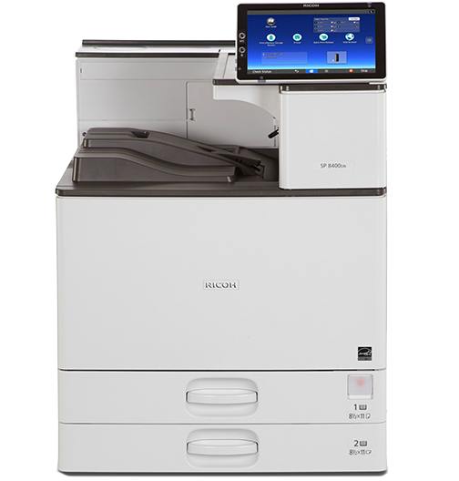 RICOH SP 8400DN Black and White Laser Printer