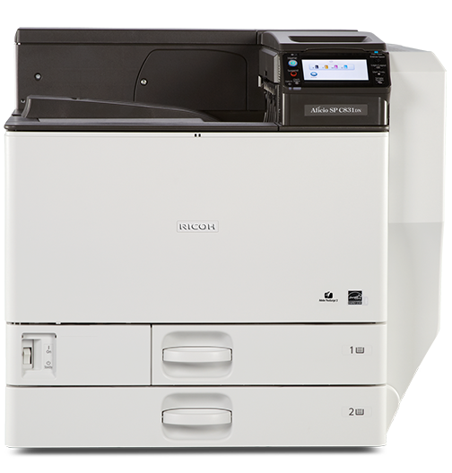 RICOH SP C831DN Color Laser Printer