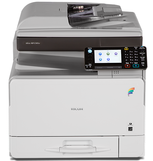 RICOH MP C305 Color Laser Multifunction Printer - 416011