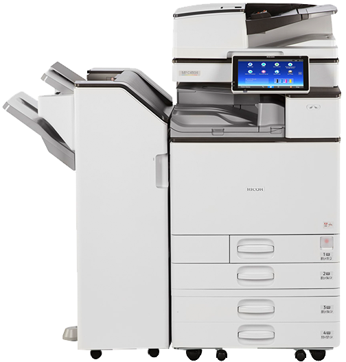 how to find fax number on ricoh printer