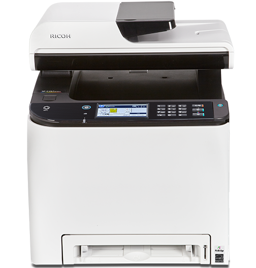 RICOH SP C261SFNw Color Laser Multifunction Printer - 408235