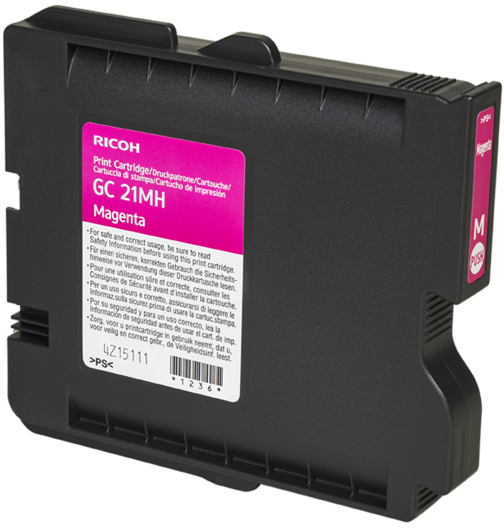 RICOH Magenta Print Cartridge High YieldGC 21MH - 405538