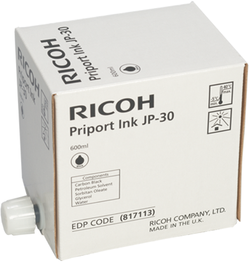 RICOH Black Priport Ink  | Ricoh USA - 817113