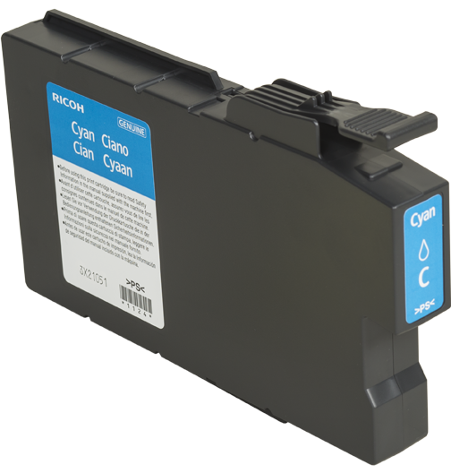 RICOH Cyan Print Cartridge MP C1500A | Ricoh USA - 888526