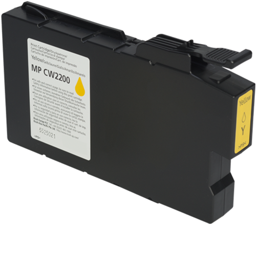 RICOH MP CW2200 Yellow Ink Cartridge - 841723