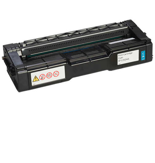 RICOH Cyan Print Cartridge  AIOSP C252HA - 407654