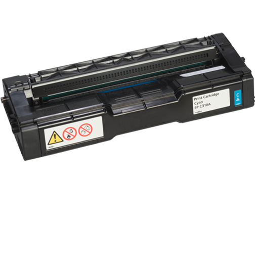RICOH SP C310A Cyan AIO Print Cartridge - 406345