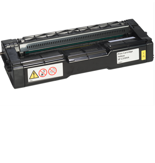 RICOH Yellow  Print Cartridge AIOSP C310HA - 406478